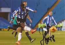 SHEFFIELD WEDNESDAY: LUCAS JOAO SIGNED 6x4 ACTION PHOTO+COA