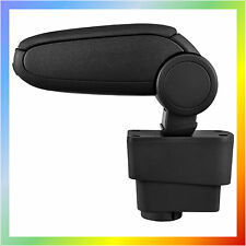FIAT GRANDE PUNTO EVO LINEA (2005-2016) CENTRE ARMREST BLACK FABRIC CLOTH NEW