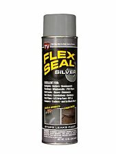Flex Seal Silver 14 oz Spray Rubber Water Coat Leak Cracks Holes Seen Tv Can Car