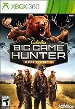 Cabela's Big Game Hunter: Pro Hunts  --  Microsoft Xbox 360 w/ Case  *Guaranteed