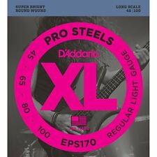 D'Addario EPS170 ProSteels Long Scale Light Bass Strings (45-100)