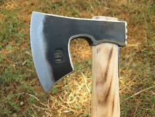 1.32 LBS FORGED WROUGHT BEARDED CAMPING AXE VIKING TOMAHAWK HATCHET HUNTING TOOL