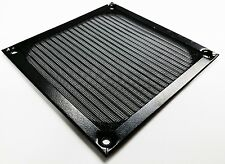 Anodized Aluminum Computer 120MM AC DC Fan Dustproof Filter Strainer Fan Guard