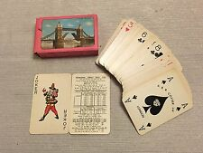 Vintage London Tower Bridge Playing Cards Deck A & R Coffer Ltd joker included