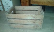 Cassette legno frutta vintage per librerie e scaffali 52x32x28