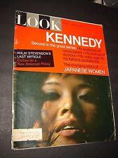 Look Magazine - August 24, 1965 - Kennedy