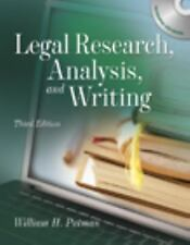 Legal Research Analysis And Writing by William H Putman
