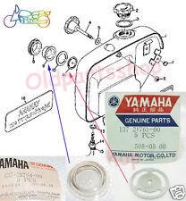 Yamaha YCS1 YGS5 YL2 CS3 YDS5 DS6 AS2C YAS1C Oil Tank Lens & Gauge NOS 2T Tank