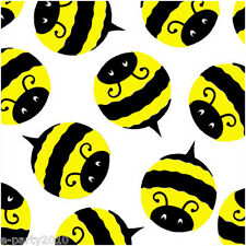 BUMBLE BEE LUNCH NAPKINS (20) ~ Birthday Party Supplies Serviettes Summer Yellow