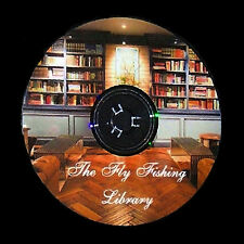 THE FLY FISHING LIBRARY CD,BOOKS,ROD BUILDING,FLY TYING
