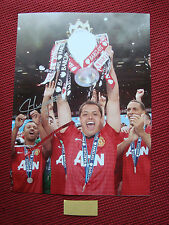 "MANCHESTER UNITED JAVIER HERNANDEZ CHICHARITO SIGNED PHOTO 12""x16"" - PROOF - COA"