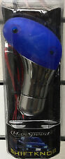 MAXSPEED SHIFT KNOB CHROME/BLUE FOR MANUAL TRANSMISSION