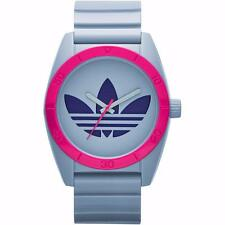NEW ADIDAS UNISEX ORIGINALS SANTIAGO GRY DIAL COLOUR WATCH