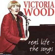 VICTORIA WOOD : REAL LIFE - THE SONGS (Audio cassette) sealed