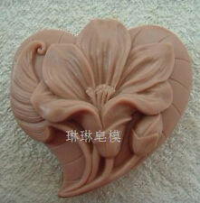 Flower Mould Craft Art Bakeware Silicone Handmade Soap DIY Molds