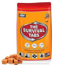 2 Day Food Supply of Butterscotch Survival Tabs 25 Year Shelf Life Emergency Kit