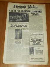 MELODY MAKER 1947 #717 MAY 3 JAZZ SWING HARRY GOLD BARRITEAU TED HEATH PREAGER