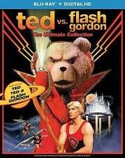 Ted Vs. Flash Gordon: The Ultimate Collection (Ted / Ted 2 / Flash . Blu-Ray NEW