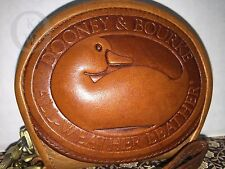 *Vintage*DOONEY & BOURKE*TAN*Duck*Change Purse/Wristlet/Coin Purse #16252K
