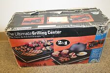 Vintage MERKSOHN Euro-Pro Ultimate Grilling Center Griddle EP-850 UGC 1720W