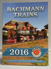 BACHMANN WILLIAMS 2016 TRAIN CATALOG n ho on30 o g scale trains accessories NEW