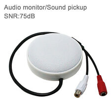 CCTV Microphone Sound Pickup Audio Monitor Pick up Security for IP Camera 75dB
