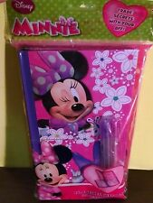 Minnie Mouse 2 in1 Sccret Swap Book with Pen Girls 3 yrs + New 2014