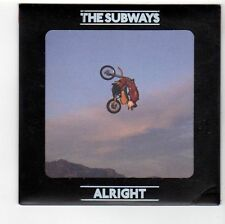 (FA845) The Subways, Alright - 2008 DJ CD