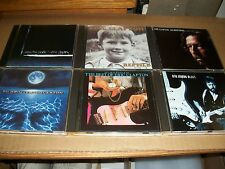 ERIC CLAPTON lot 6x CD pilgrim BEST OF blues REPTILE journeyman FROM THE CRADLE