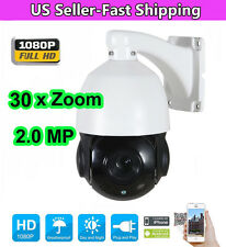 4.5'' 30X Zoom 1080P 2.0 MP Mini Outdoor PTZ IP Speed Dome Camera Night IR-CUT