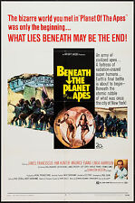 BENEATH THE PLANET OF THE APES original 1970 one sheet movie poster