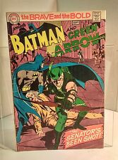 Brave and the Bold #85 (1955) 4.0 VG Haney/Adams 1st New Green Arrow Suit