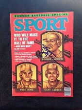 Reggie Jackson Signed Autographed Magazine Sport July 1986- A's- Yankees- Auto