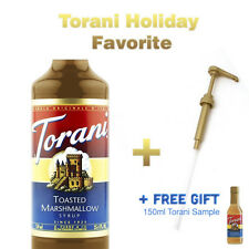 Torani Toasted Marshmallow Syrup 750ml + Pump | FREE GIFT WITH PURCHSE