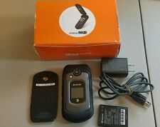 Kyocera DuraXE E4710 8GB unlocked black new other at&t rugged flip gsm ke4710