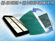 AIR FILTER HQ CABIN FILTER COMBO FOR 2004 2005 2006 2007 HONDA ACCORD -2.4L ONLY