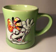 Thomas Goletz Diddl 3D Cartoon Animation Green Coffee Mug Cup