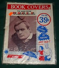 Vtg 1965 Man From UNCLE Book Covers World Wide Products Illya Napoleon Solo