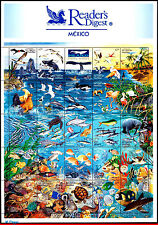 2090 MEXICO 1998 MARINE LIFE, BIRDS, WHALE, TURTLES, FISH, DOLPHIN, MI 2713, MNH