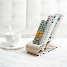 Home TV/DVD/VCR Step Remote Control Mobile Phone Holder Stand Storage Organiser