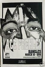 ACE FREHLEY 1992 DENVER CONCERT TOUR POSTER - Classic Rock Music, Kiss Guitarist