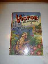 THE VICTOR BOOK for BOYS - Annual - Year 1966 - UK Annual ( Price Tab Intact )