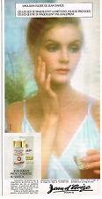 PUBLICITE ADVERTISING 045  1973  JEAN D'AVEZE  cosmétiques