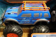 LAND & WATER ROVER Radio Controlled Amphibious Vehicle BLUE CAR 49MHz