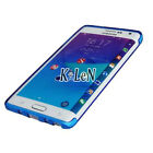 Blue Ultra Slim TPU Silicone Case Skin Cover For Samsung Galaxy Note Edge N9150