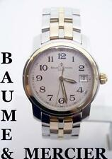 Mens BAUME & MERCIER 18K & S/Steel Watch MVO45215 in EXLNT Condition