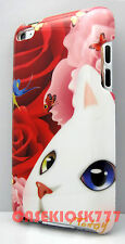 for iPod touch 4th 4 th itouch hard case kitten cat kitty face red pink rose