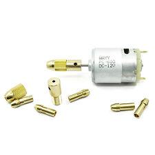 8 Pcs 0.5-3mm Electric Drill Bit Collet Mini Twist Drill Tool Chuck Set Astute