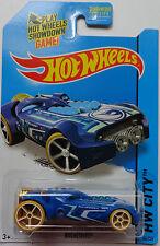 2015 Hot Wheels HW CITY Secret Treasure Hunts Rocketfire 44/250 (Blue)