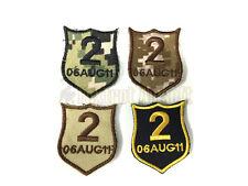 NSWDG EX17 Memorial No.2 06 AUG 11 Patch Set Devgru Navy Seals lbt Aor1 aor2